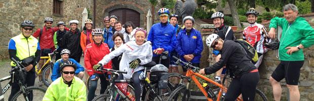 vacanze in bici di gruppo