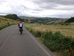 praticare il cicloturismo