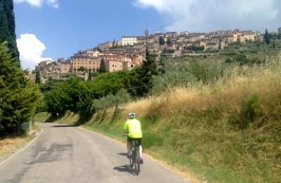 tour bici umbria