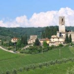 week end in bici chianti