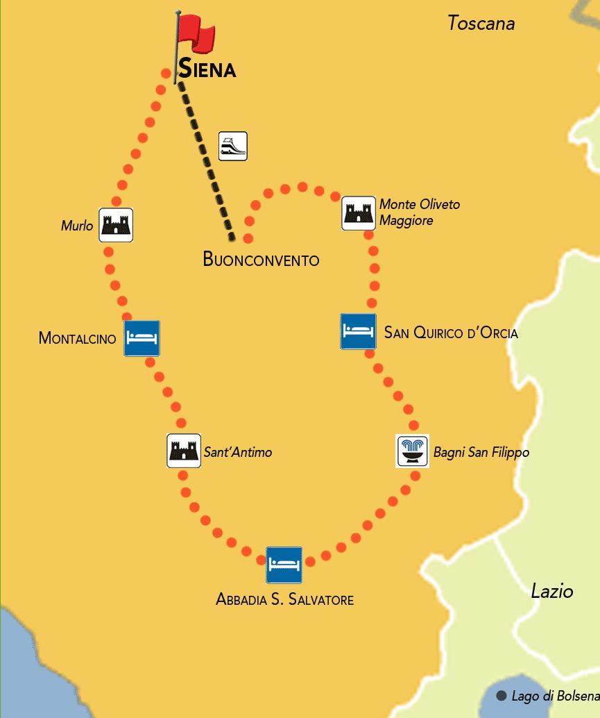 Tour Della Toscana In Auto