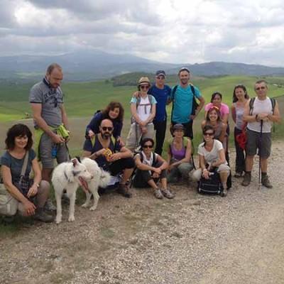 trekking in toscana gruppo