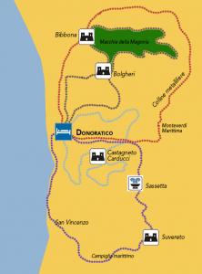itinerario bici costa etruschi
