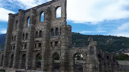 via francigena 2 - Aosta